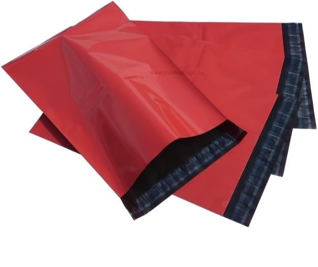 Postorderpåsar Röda Large 25x39cm