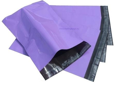 Postorderpåsar Lila 2XL 35x54cm