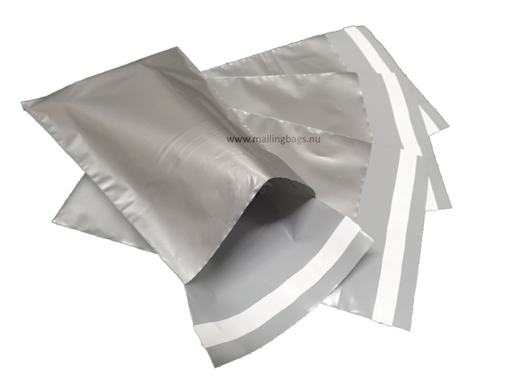 Postorderpåsar Silver 2XL 35x54cm