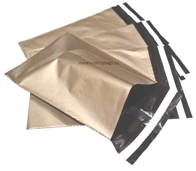 Postorderpåsar Guld X-Small 12x21cm