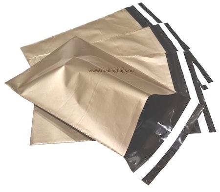 Postorderpåsar Guld 2XL 35x55cm