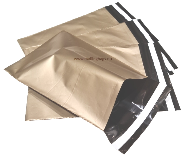 Postorderpåsar Guld 3XL 43x64cm