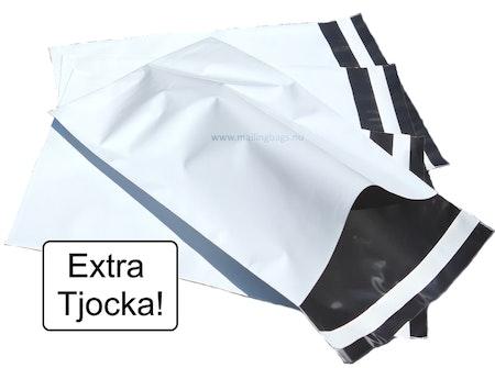 Postorderpåsar Vita Extra Kraftig Large 25x39cm