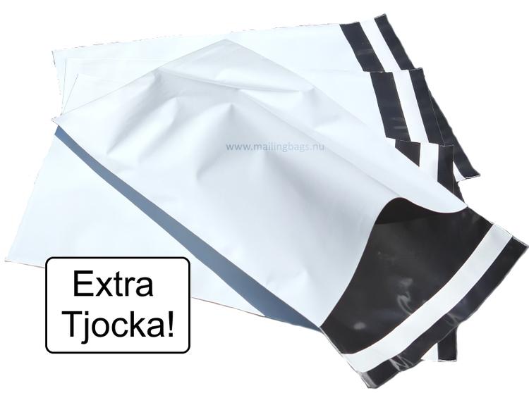 Postorderpåsar Vita Extra Kraftig 2XL 35x54cm