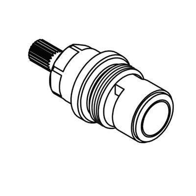 Ventilöverstycke Nordic/Nautic/Skandic termostatblandare