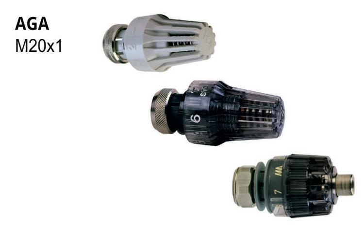 Adapter för MMA termostat AGA ventil