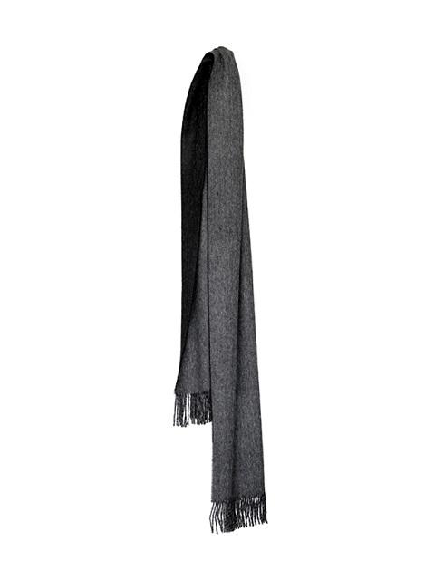Elvang Unisex scarf BLACK/GREY