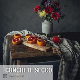 Kalklitir kalkfärg CONCRETE SECCO 1 kg
