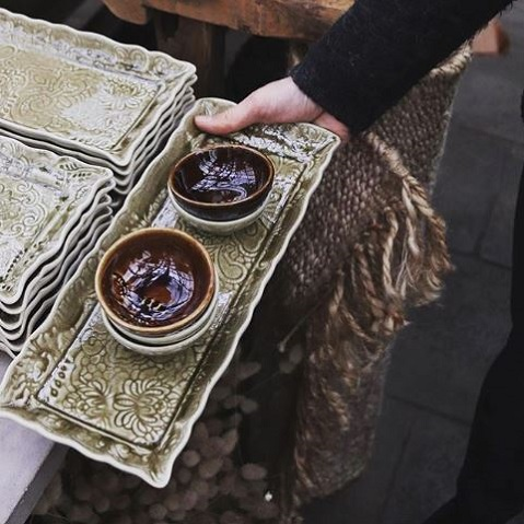 Sthål Arabesque Tray dish