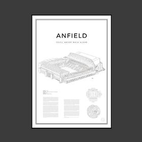 Anfield 50x70 cm