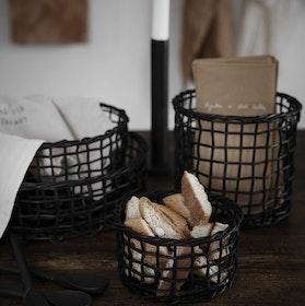 Baskets 4-pack BLACK