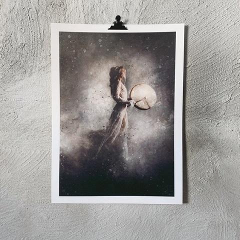 MAGIC artprint 50x70 cm