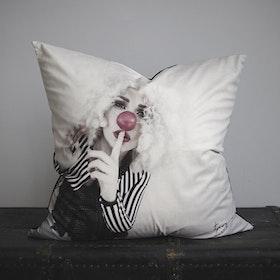 SECRET velvet pillowcase
