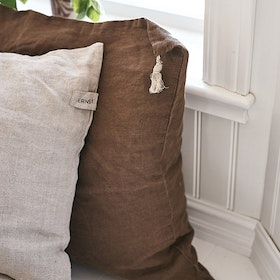 Cushion cover in linen 50x50 cm