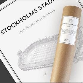 Stockholm stadion 50x70 cm
