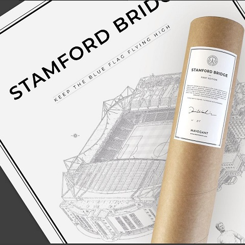 Stamford Bridge 50x70 cm