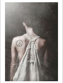 PEACE artprint 50x70 cm