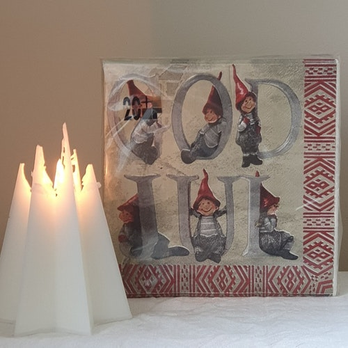Servett Tomtenissar / God Jul