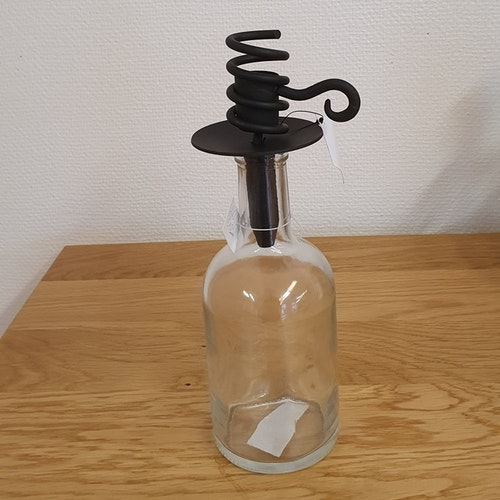 Stumpstake till flaska, svart