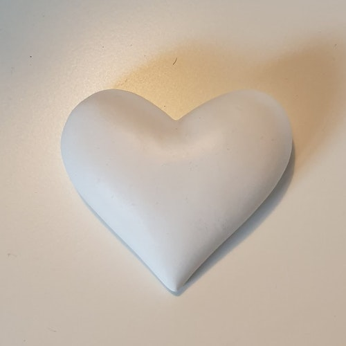 Hjärta vit