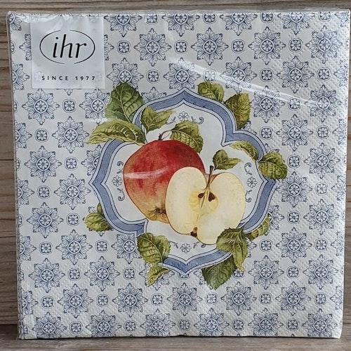 Servett med äpplen
