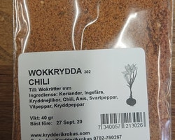 Wokkrydda  Chili