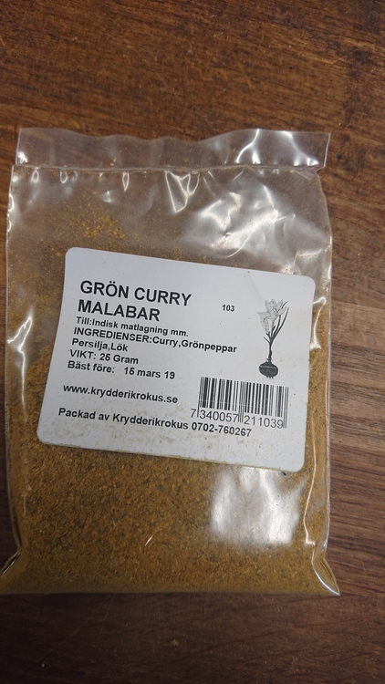 Curry Grön