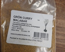 Curry Grön