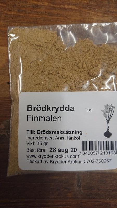 Brödkrydda finmalen