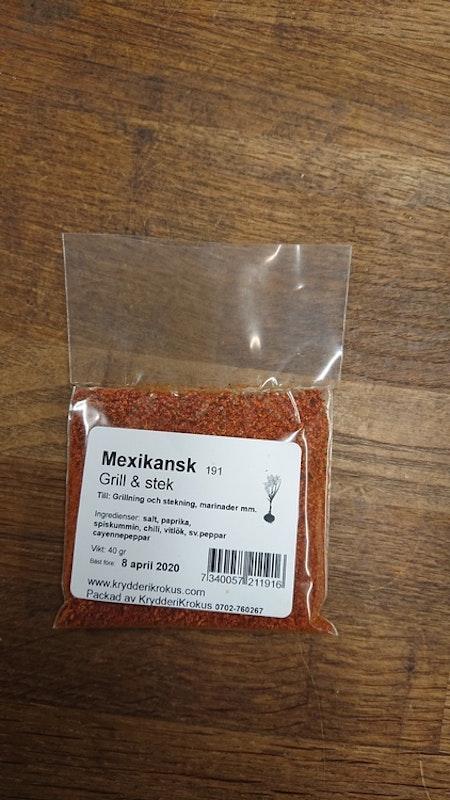 Mexikansk grill & stek