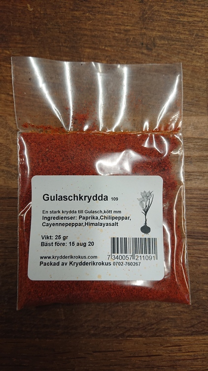 Gulasch krydda