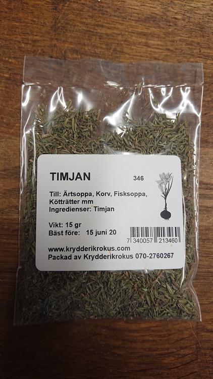 Timjan