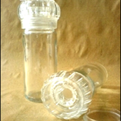 Kryddkvarn i glas/plast