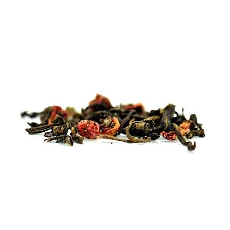 Gröna löv röda bär - Grönt te
