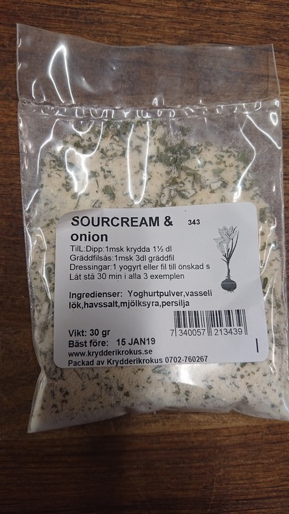 Sourcream & onion