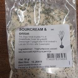Sourcream & onion
