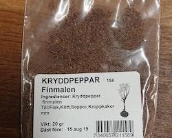 Kryddpeppar Finmalen