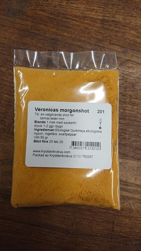 Veronicas morgonshot