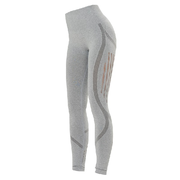 Seamless Träningstights Grey Mesh