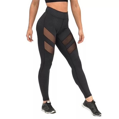 Dam Tights Black Mesh