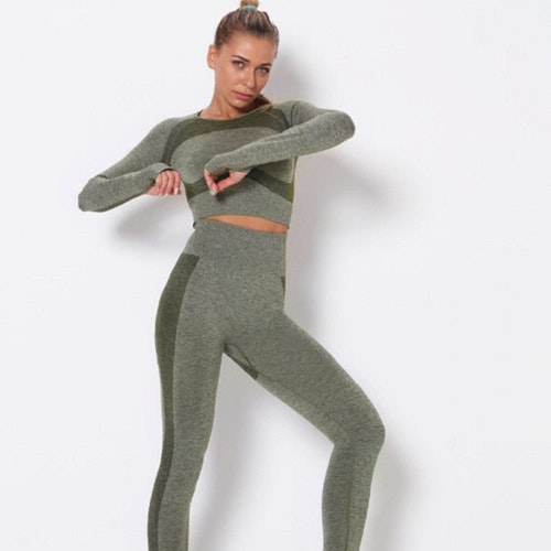 Seamless Set Active Green