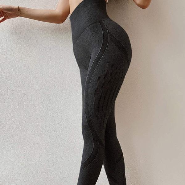 svarta seamless tights. framhäver rumpan
