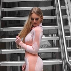 Flingwear Seamless Topp Ribbed