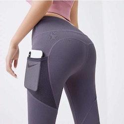 Träningstights med ficka