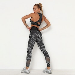 Flingwear Seamless Set Camo Black