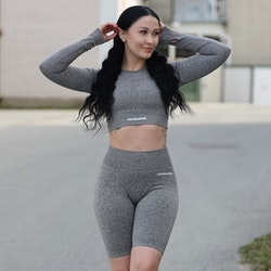 Flingwear Seamless Shorts Grey
