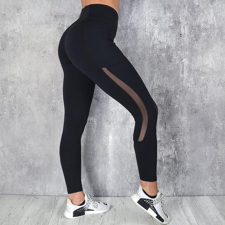 snygga träningstights med ficka på sidorna