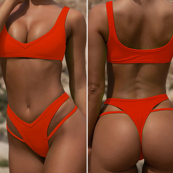 Fire Red Bikini