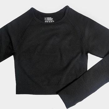 Black sport top
