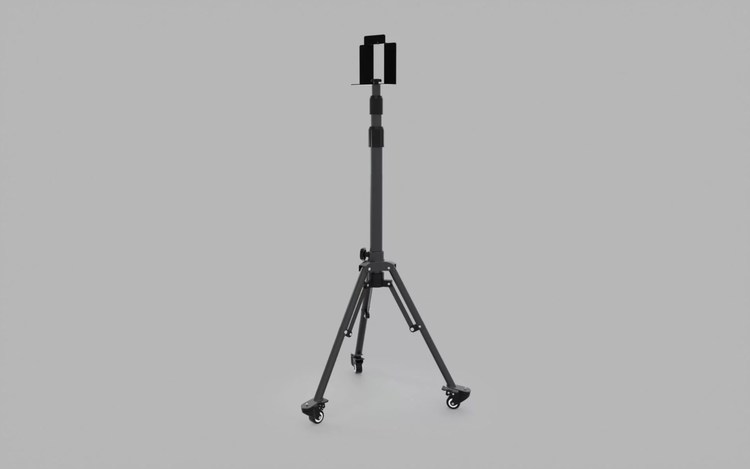 Unilite - Single Head Wheeled Tripod (TRIPOD-SGL)